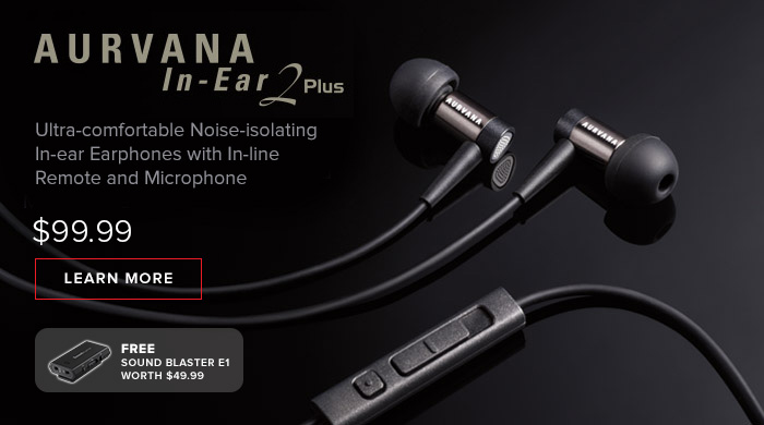 AURVANA IN-EAR2 PLUS