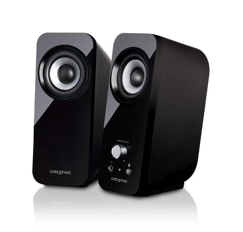 computer speakers. 2.0 wireless desktop speakers computer