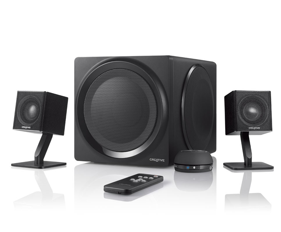 home theater systems with wireless speakers. creative t4 wireless \u2013 2.1 speaker system with nfc - technology (singapore) home theater systems speakers r
