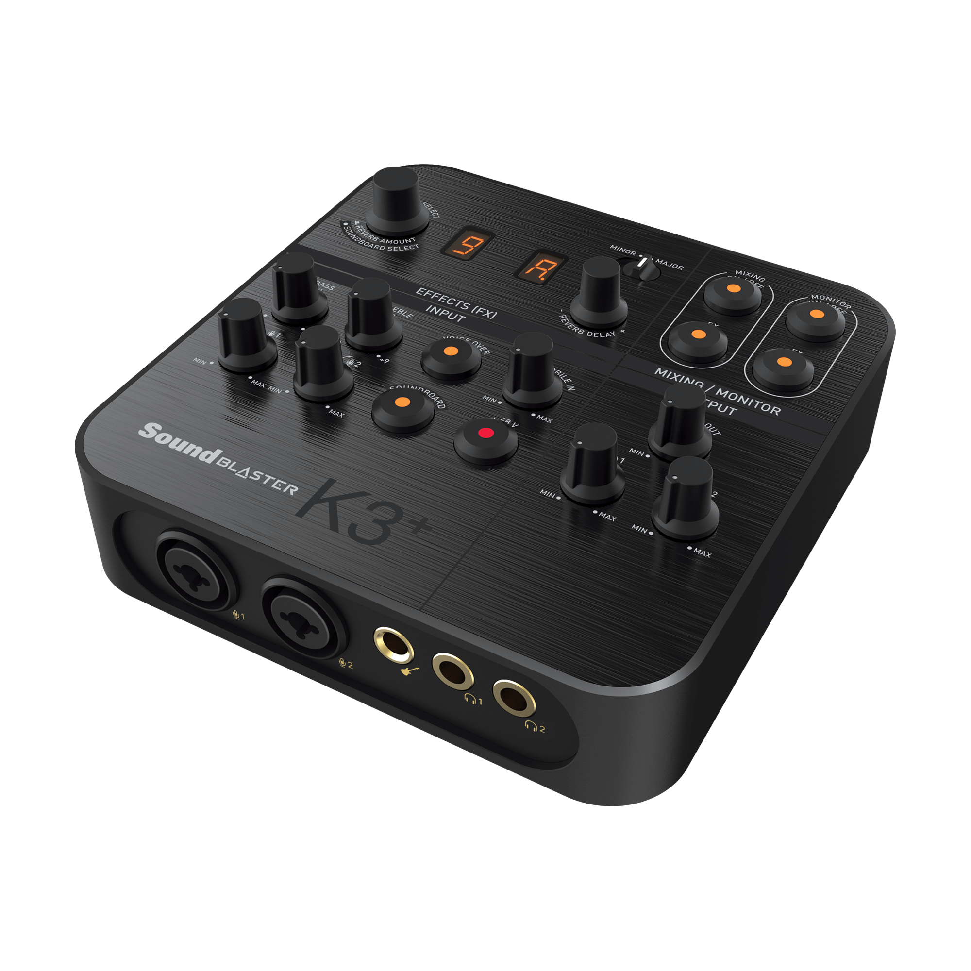 Bluetooth USB External Audio Sound Card for Live Sound Mixing Broadcast Record