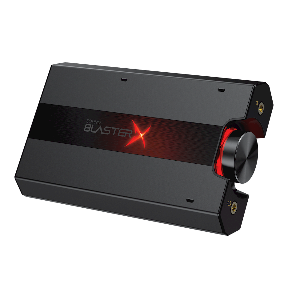 Sound Blasterx G5 Pci Card 4 Channel With Game Port 71 Hd Audio Portable Headphone Amplifier Creative Labs United States