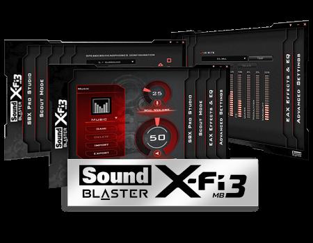 Sound Blaster X Fi Mb Активация