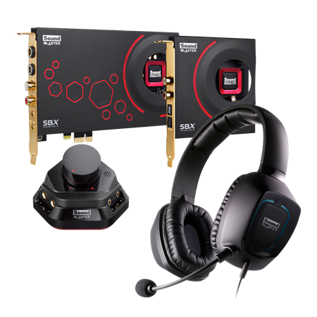 Sound Blaster ZxR High Performance Gaming Pack