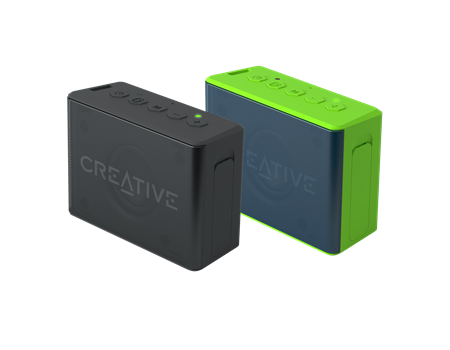 Creative MUVO 2c Twin Pack (Red/Red)