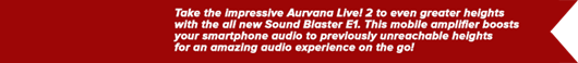 Aurvana Live!2 Music Pack
