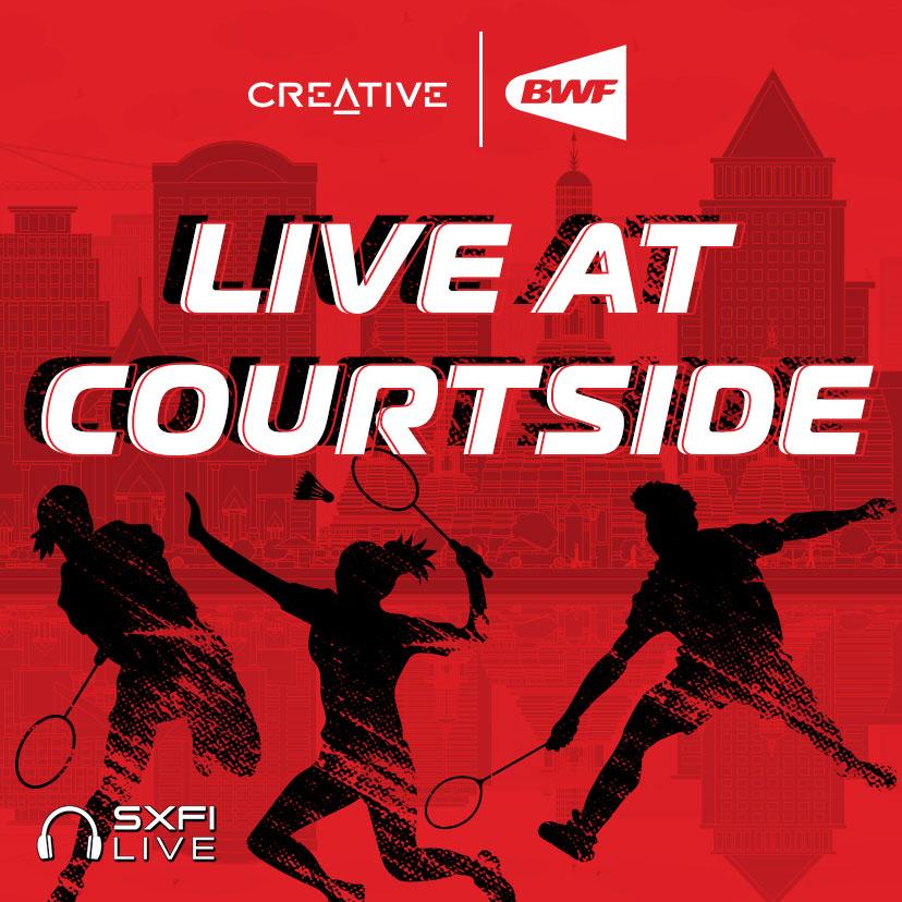 Creative | BWF Live At Courtside