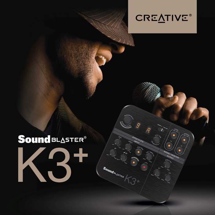 Creative Unleashes Sound Blaster K3+ in Singapore: The