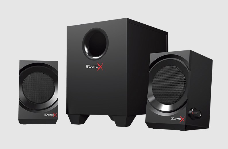 awesome computer speakers. sound blasterx kratos s3 awesome computer speakers
