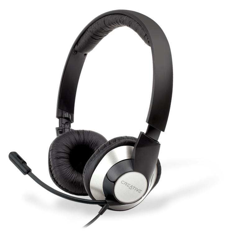 USB Headset For Online Chats And PC Gaming
