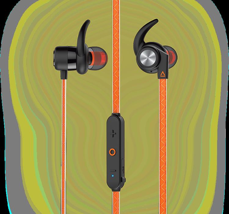 60c564612b5 Creative Outlier Sports. Ultra-light Wireless Sweatproof In-ear Headphones