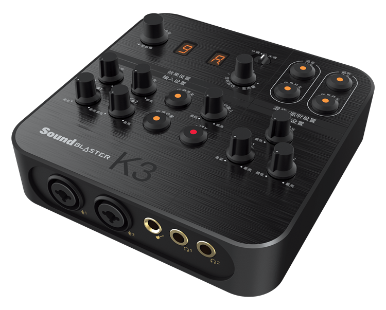 Sound Blaster K3 - USB-Powered Recording and Streaming Mixer