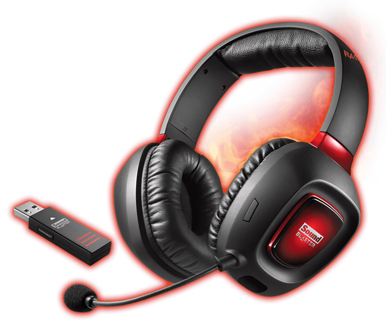 Sound Blaster Tactic3d Rage Wireless V2 0 Gaming Headsets Creative Labs United States