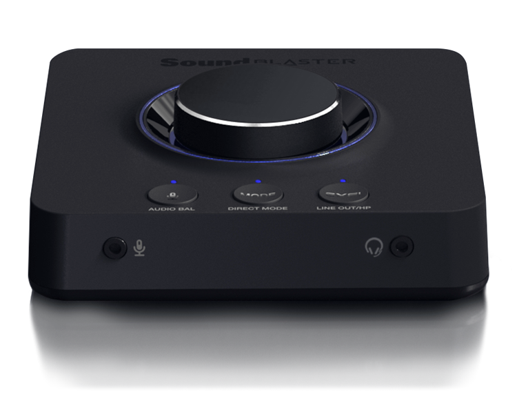 Sound Blaster X3 Hi Res 7 1 Discrete External Usb Dac And Amp Sound Card With Super X Fi For Pc And Mac Creative Labs United States