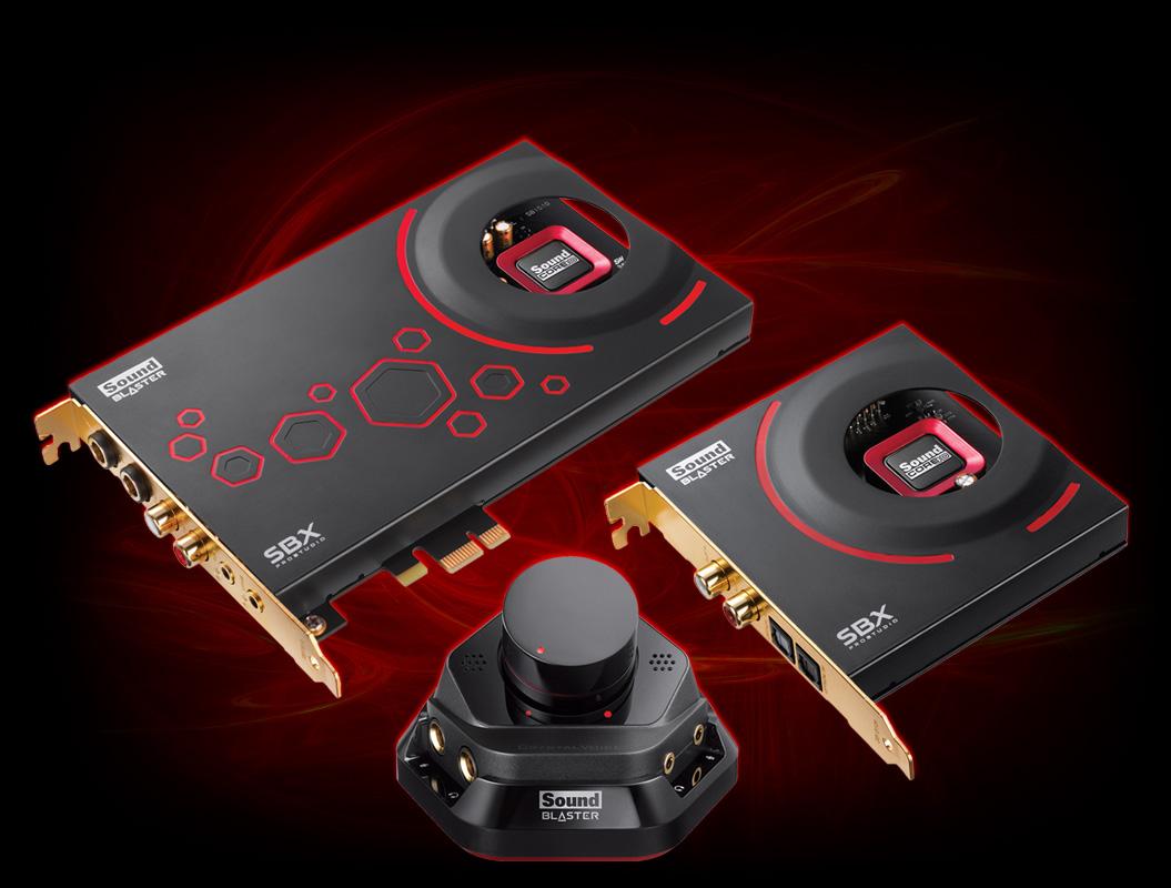 Sound Blaster ZxR - Sound Blaster - Creative Labs (Danmark)