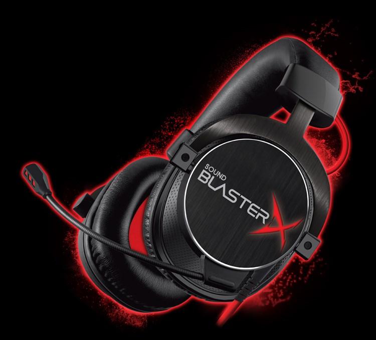 sound blasterx h7 tournament edition ゲーミング ヘッドセット