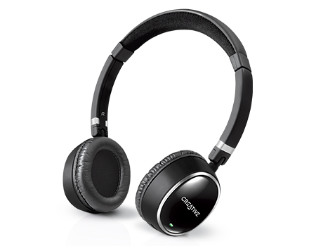 3983b9fa595 WP-300 Bluetooth Stereo Headphones for Music - Creative Labs (Asia)