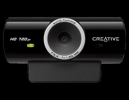 Creative live cam sync hd 720p plug and play webcam for Live camera website