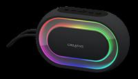 Altoparlante Bluetooth portatile con spettacolo di luci programmabile