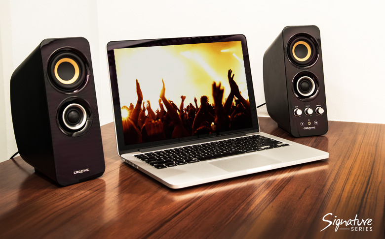 Creative T30 Wireless Bluetooth 3.0 2.0 Computer Speaker System with Near Field Communication (CT-T30)