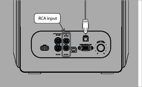 RCA輸入