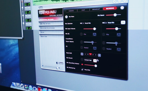 youtube audio recording starter kit sound blaster r3 creative technology singapore. Black Bedroom Furniture Sets. Home Design Ideas