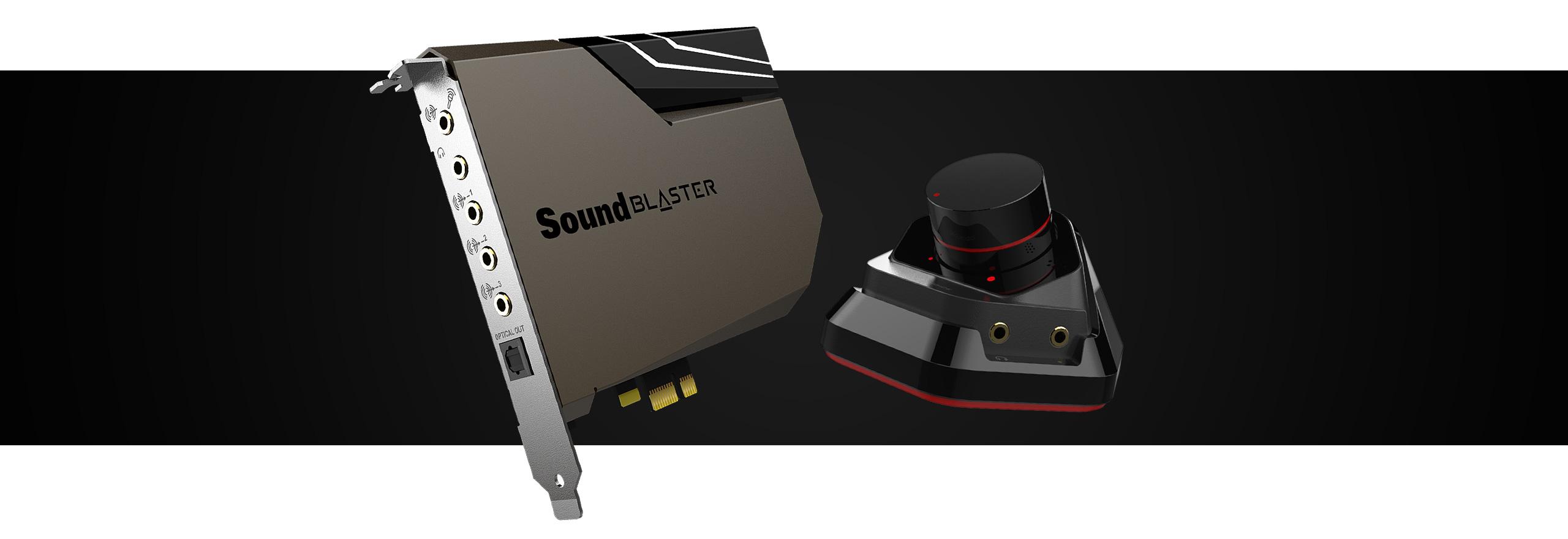 Las nuevas tarjetas de sonido SoundBlaster AE 7 y AE 9!!