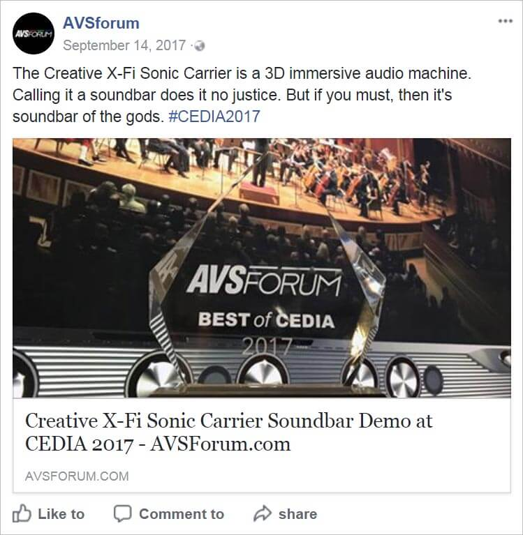 Creative X-Fi Sonic Carrier — The ultimate upgrade for your