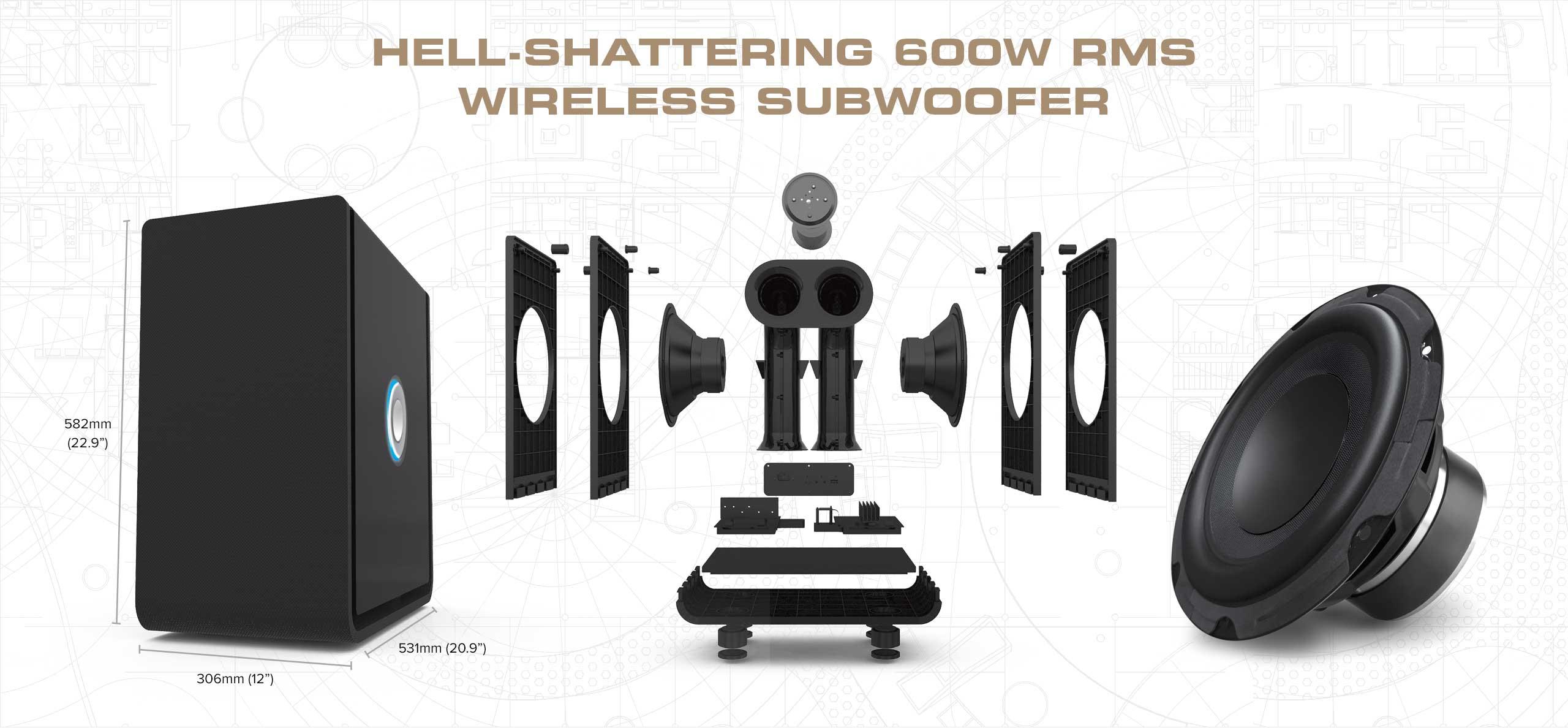 Paradigm Speaker Grill Replacement